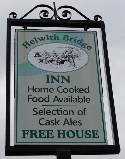 Helwith Bridge Inn, Helwith Bridge