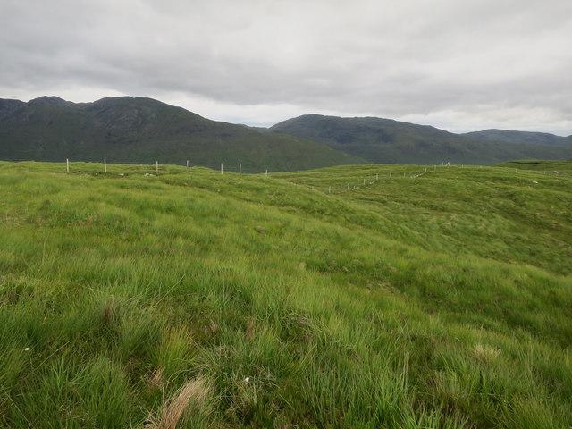 Fenceline towards Beinn Churalain