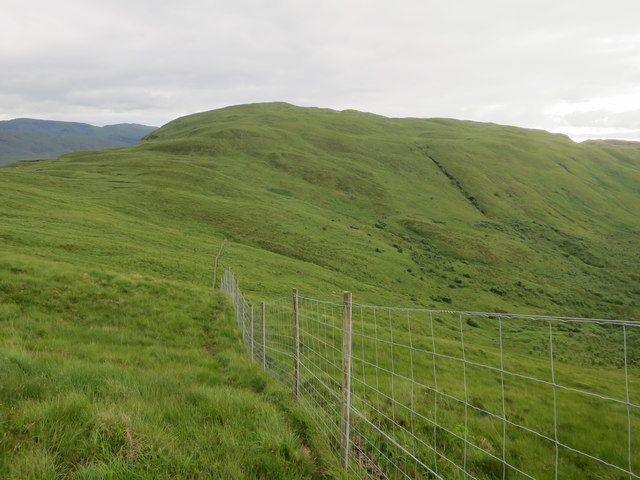 Deer fence around Coire Chailein