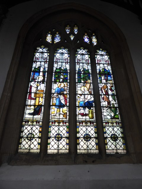 St Mary, Yatton: stained glass window (a)