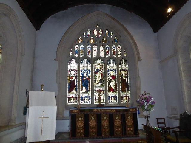 St Mary, Yatton: altar