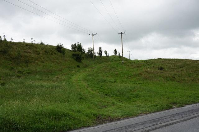 Farm track off Austwick Road