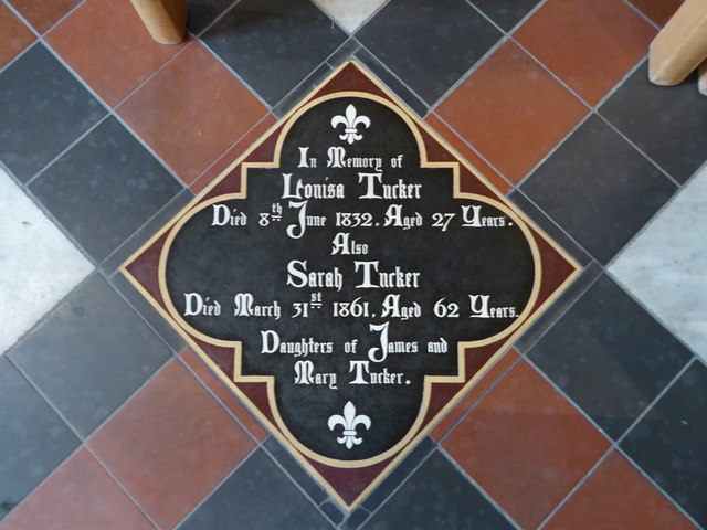 St Mary, Yatton: memorial (d)