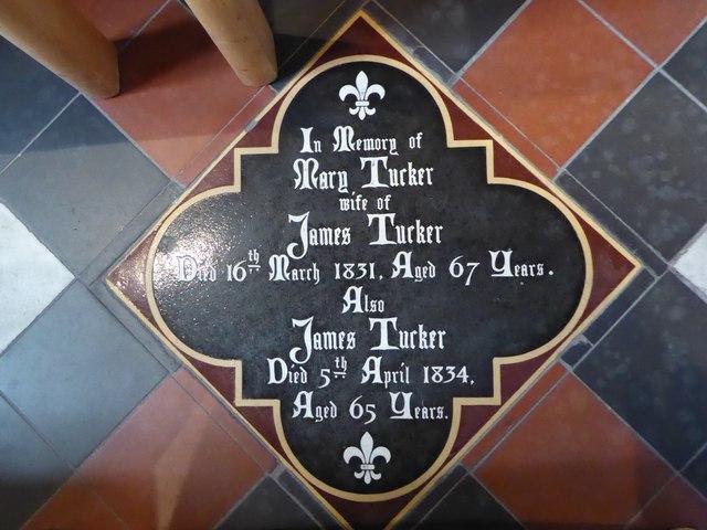 St Mary, Yatton: memorial (e)