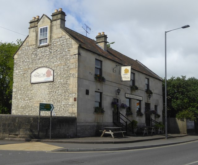 The Royal Oak at East Twerton on A36