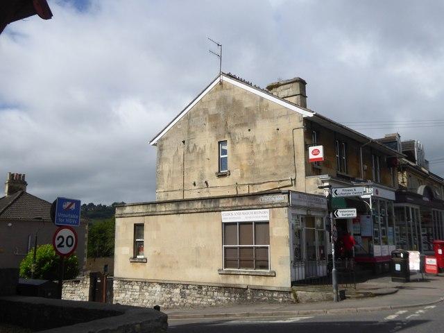 Post Office in Twerton on A4