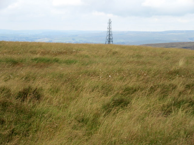 Moorland above the Way Stone