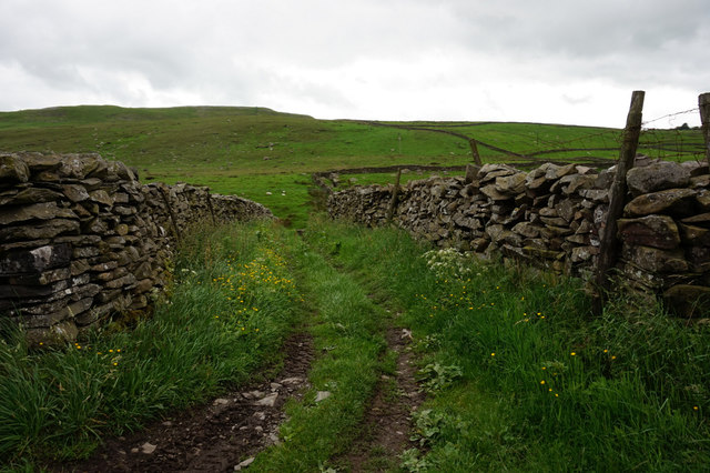 Bridleway to Lower Bark House