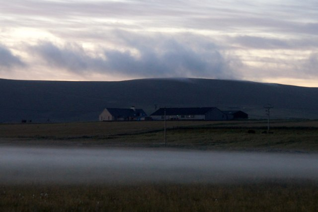 'Daala mist' at Haroldswick