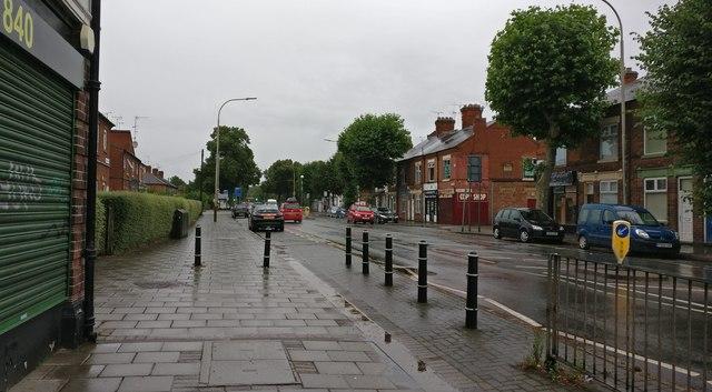 Saffron Lane in Leicester