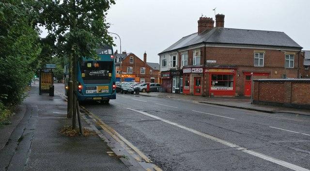 Aylestone Road in Leicester