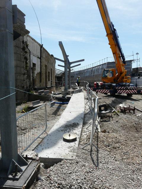 Refurbishment of Folkestone Harbour Station