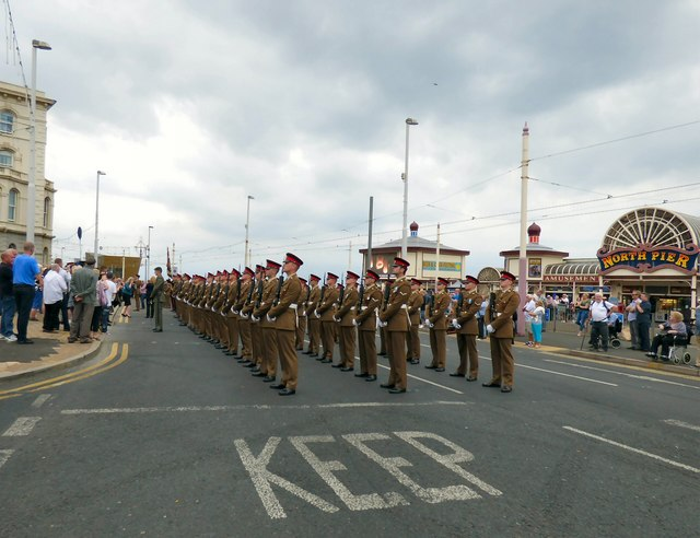 Lions of England granted Freedom of Entry to Blackpool