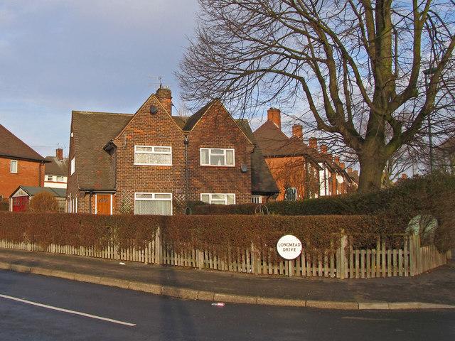 Corner semis on Edwards Lane Council Estate