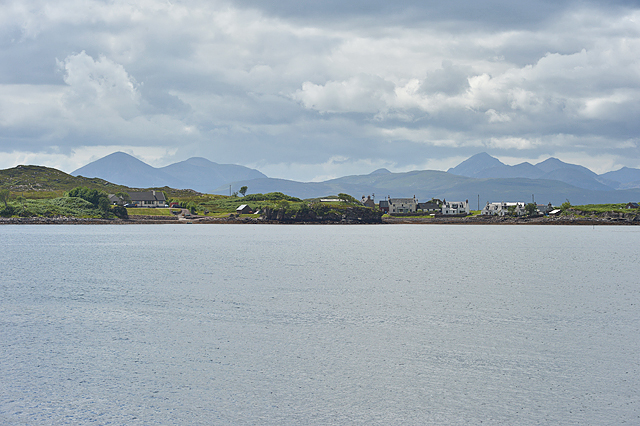 Aird-Dhubh from the north east