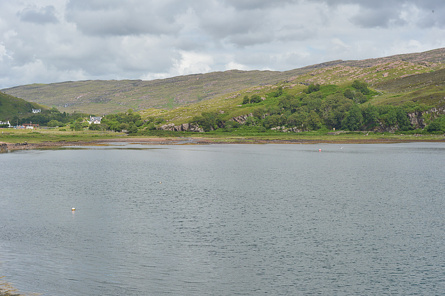 View to the head of Loch Toscaig