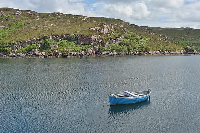 Looking across Loch Toscaig