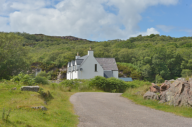 House by Toscaig pier