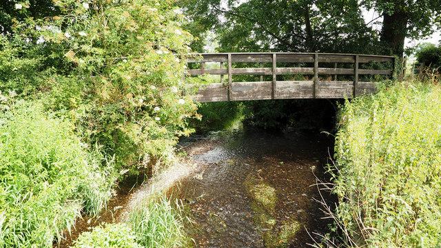 Footbridge over River Blythe