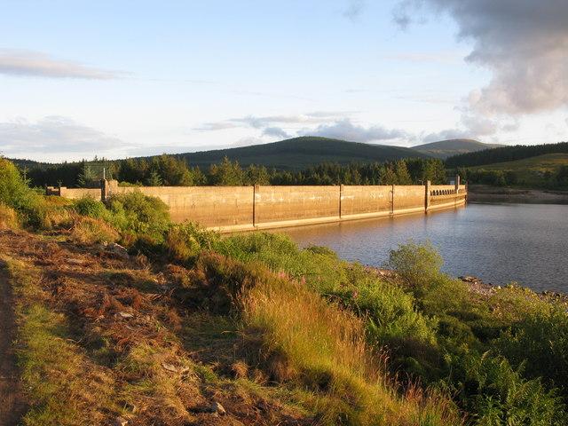 Clatteringshaws Dam, Galloway Hydroelectric Power Scheme