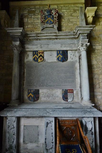 Ebrington, St. Eadburgha's Church: Sir William Keyte memorial 2