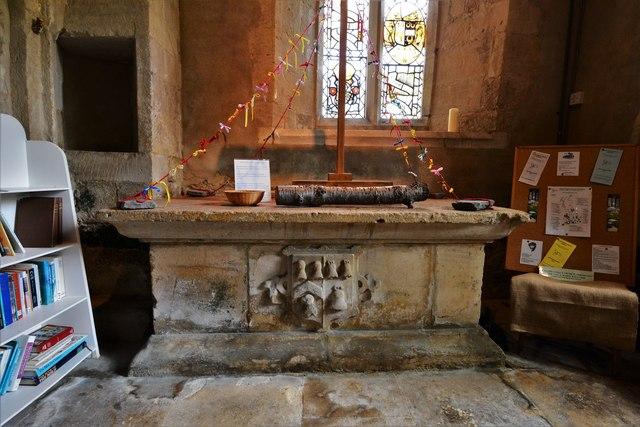 Ebrington, St. Eadburgha's Church: The Keyte tomb in the south aisle