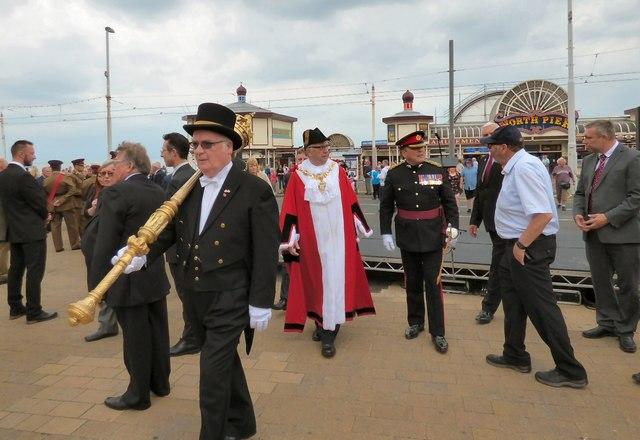 The Mayor and his Mace-bearer