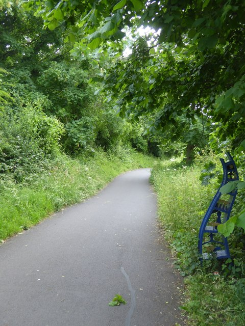 Sustrans marker, Bristol and Bath cycle path