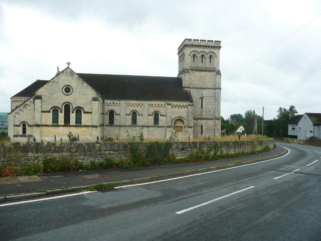 St Paul's Church, The Plain, Whiteshill, Stroud