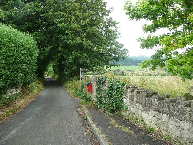 Lane off The Plain, near the church, Whiteshill, Stroud