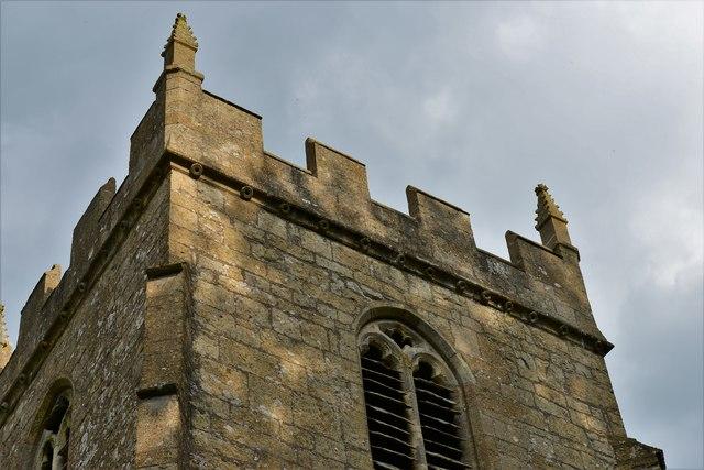 Ebrington, St. Eadburgha's Church: The tower
