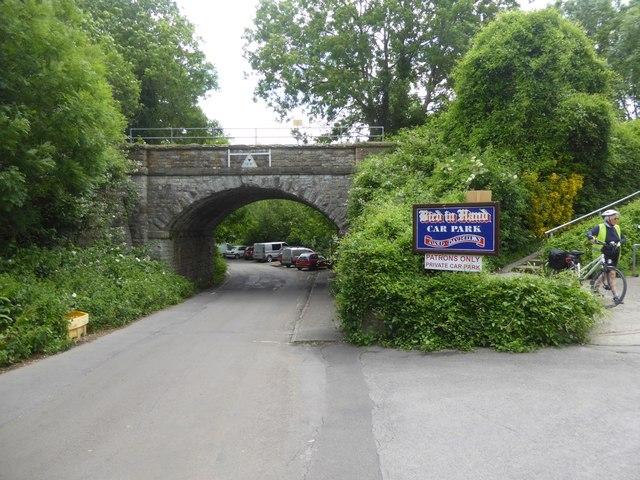 Disused railway bridge, Saltford