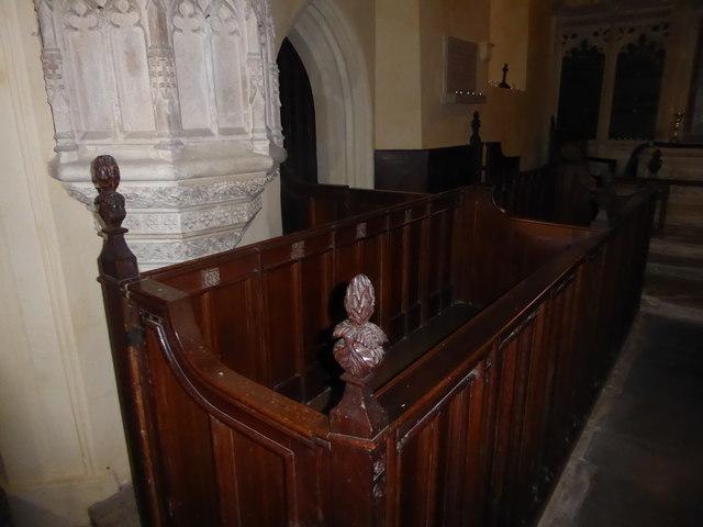 Inside St Nicholas, Brockley (d)