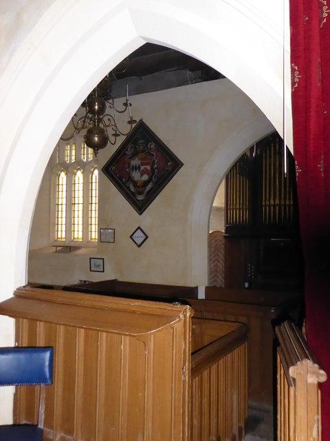 Inside St Nicholas, Brockley (i)