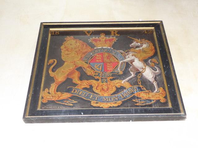 St Nicholas, Brockley: coat of arms