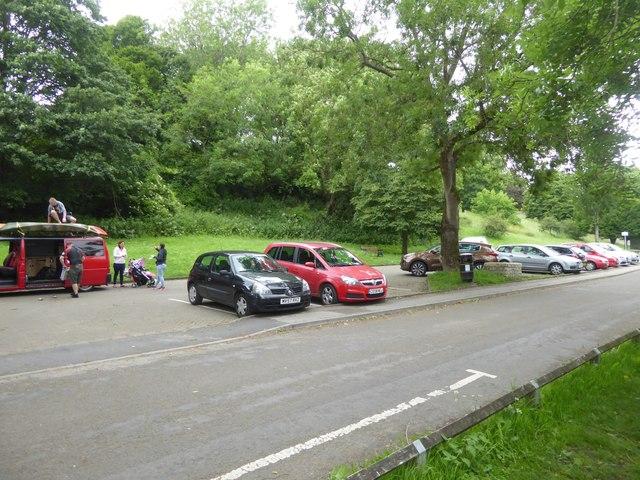Car park at Saltford