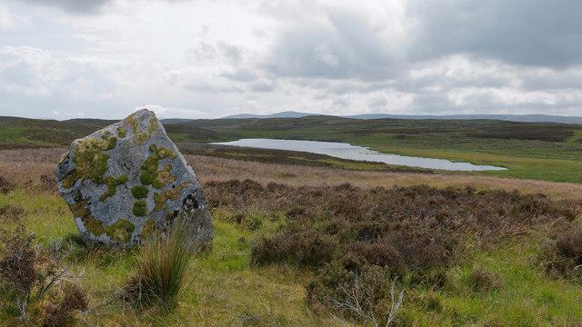 Erratic by Loch na Cinneamhuin