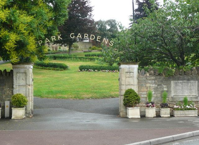Entrance to Park Gardens, Stroud