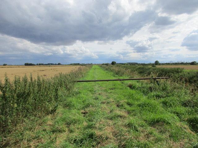 Path alongside Drewery's Sock Dike