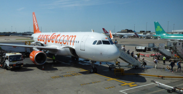 Airside at Manchester Airport