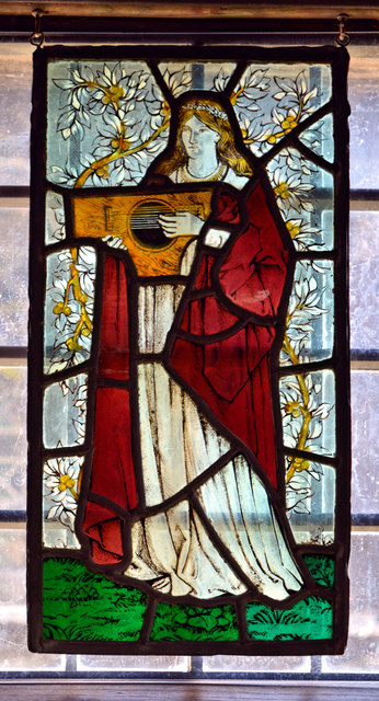 William Morris glass, Wightwick Manor