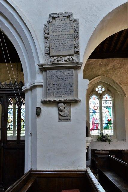 Wing, All Saints Church: Saxon nave column 1