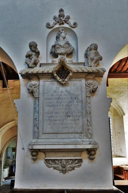 Wing, All Saints Church: Saxon nave column 2