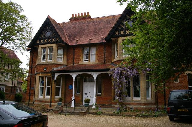 Woodstock Road, Oxford: former home of Dorothy Hodgkin