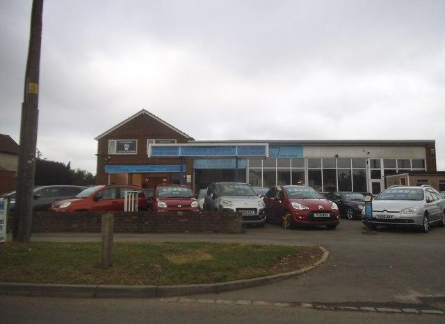 The Vehicle Centre on on Manor Road, Caddington