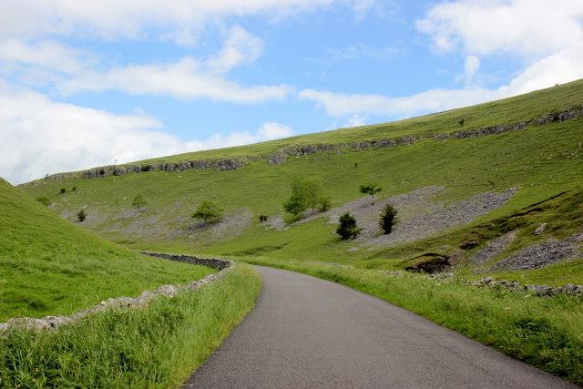 Long Dale Dry Limestone Valley