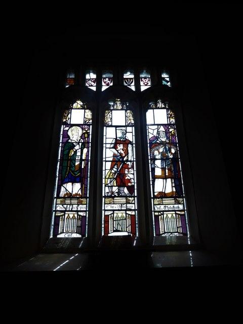 St Nicholas, Brockley: stained glass window (a)