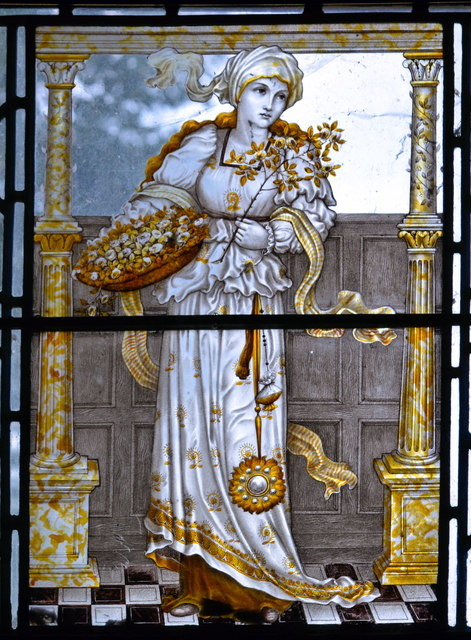 Summer, by Charles Eamer Kempe, Wightwick Manor