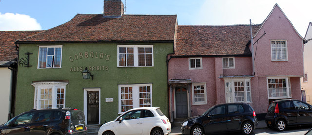 Old Shoulder House 126 and 124 High Street, Hadleigh