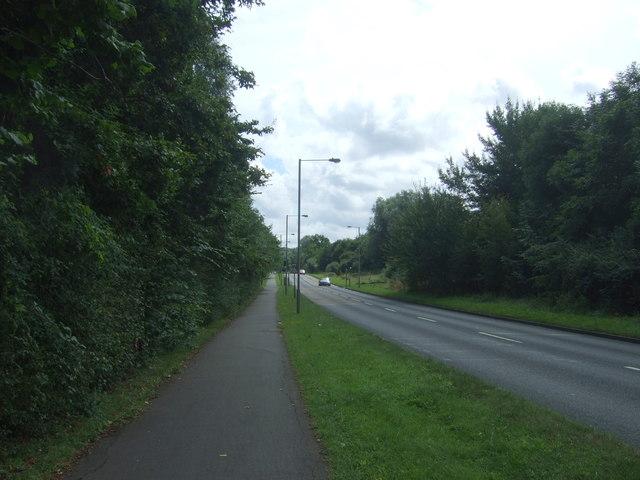 Berkeley Way, Worcester (B4639)